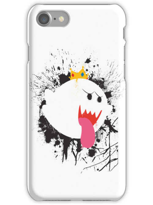King Boo Splattery Design by thedailyrobot