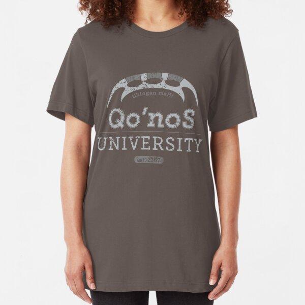 Qo'nos University Slim Fit T-Shirt