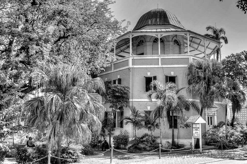 The Nassau Public Library in Shirley Street, The Bahamas by Jeremy Lavender Photography