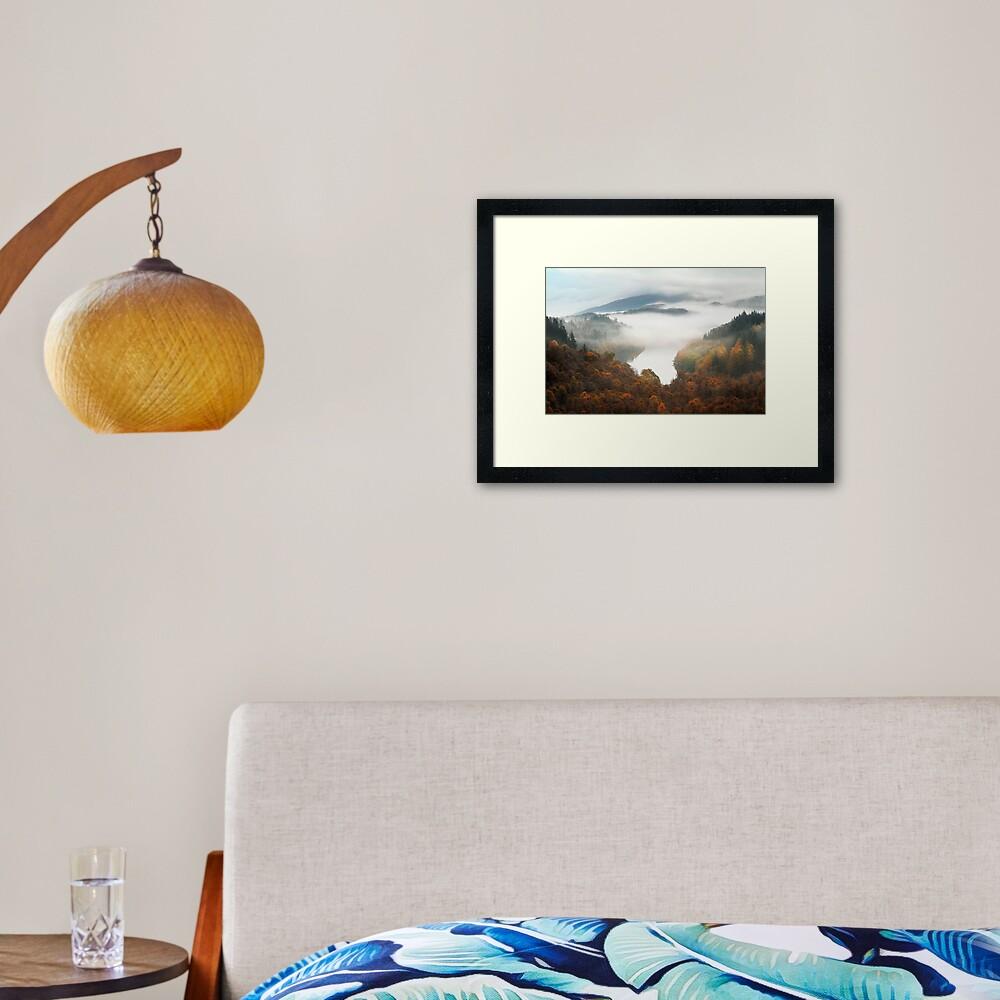 Drunkie Mist Framed Art Print