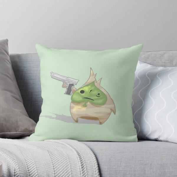 Korok Gun Throw Pillow