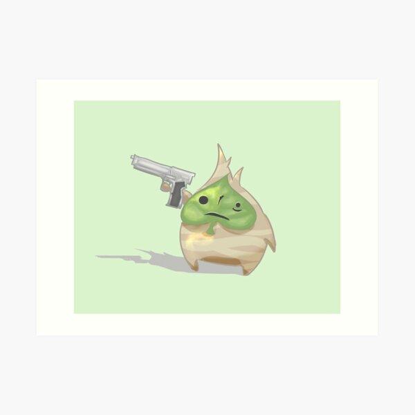 Korok Gun Art Print