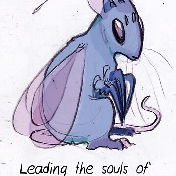 MBTI GHOSTS AND GHOULS- ISFJ BEETLE RAT BUG MOUSE by samsketchbook