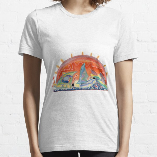 Sunset in Cannes Essential T-Shirt
