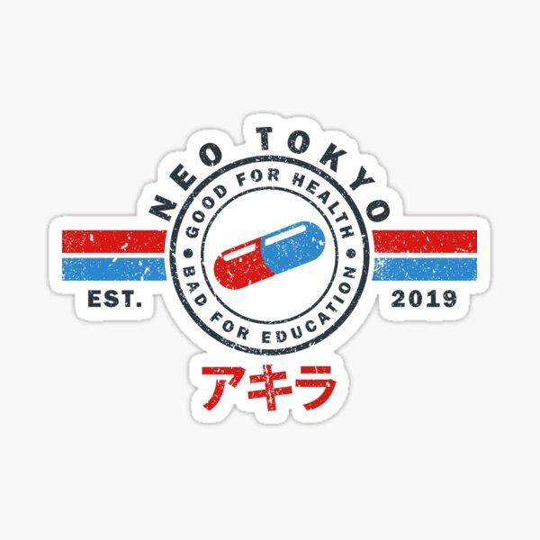The Capsules - Akira - Neo Tokyo 2019 Sticker