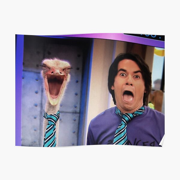 iCarly Spencer Ostrich Emu Poster