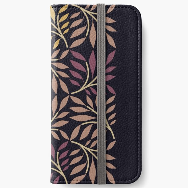Leaf Squares iPhone Wallet