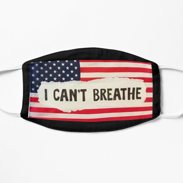 I Can't Breathe Flag Mask