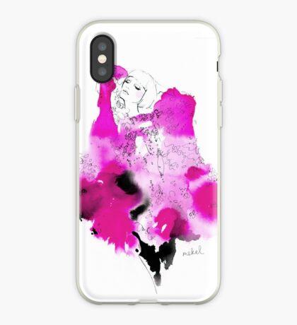 Jaime Lee in Pink iPhone Case