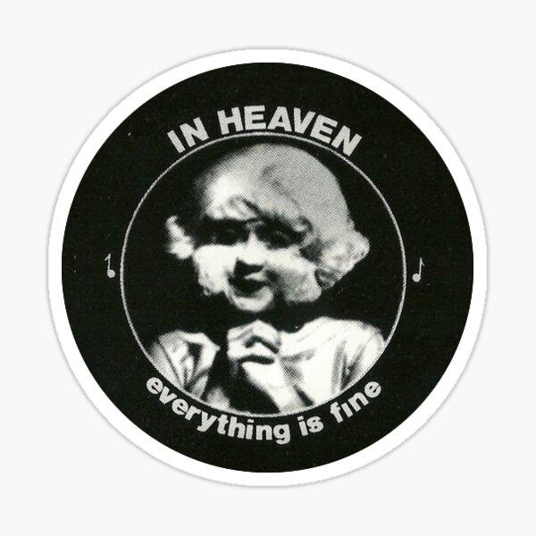 Eraserhead directed by David Lynch Sticker