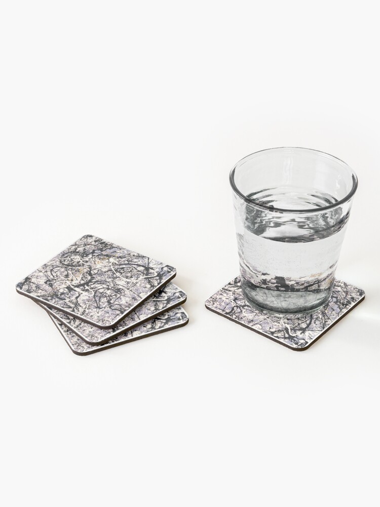 Alternate view of Stone Roses Coasters (Set of 4)