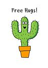 Free Hugs Cactus  by Creative Spectator