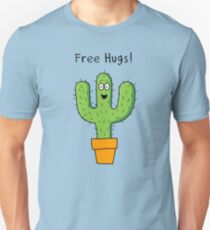 Free Hugs Cactus  Slim Fit T-Shirt