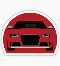 B8 Avant Simplistic design  Sticker