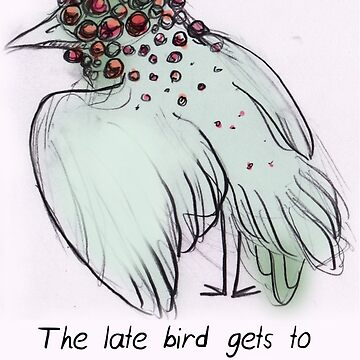 MBTI GHOSTS AND GHOULS- INTJ BIRD MONSTER MUTANT by samsketchbook