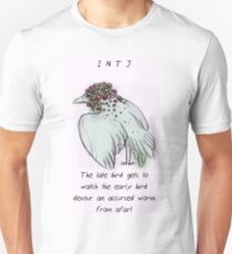 MBTI GHOSTS AND GHOULS- INTJ BIRD MONSTER MUTANT T-Shirt