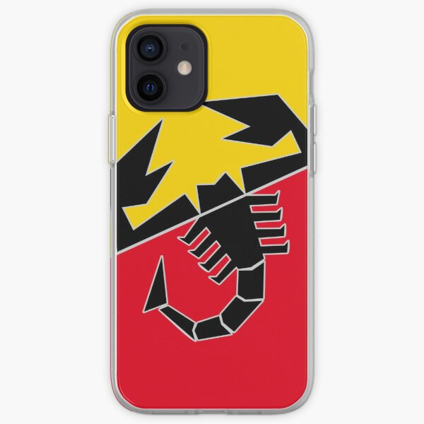 Abarth Scorpion iPhone Soft Case