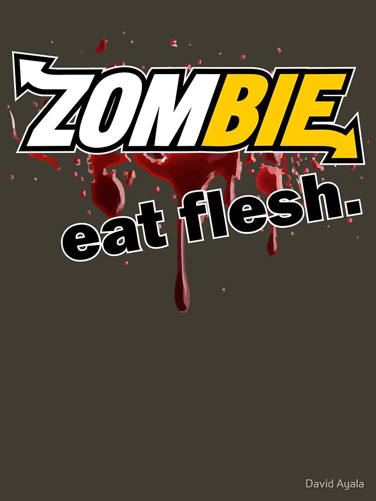 Zombie - Eat Flesh | Unisex T-Shirt