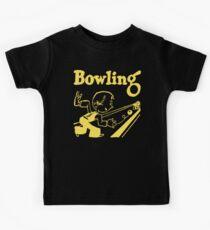 Bowling Vintage Dark Kids Clothes