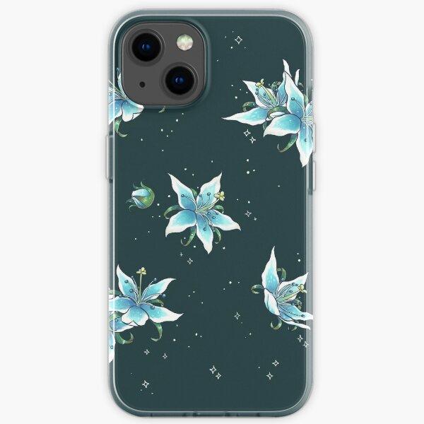 Prinzessinnen-Enzian iPhone Flexible Hülle