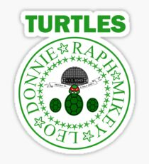 The Turtles Sticker