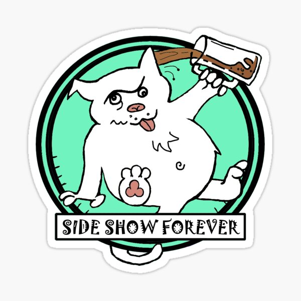 SIDE SHOW MINT Sticker