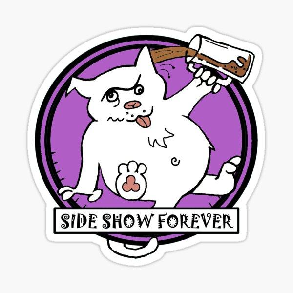 SIDE SHOW PURPLE Sticker