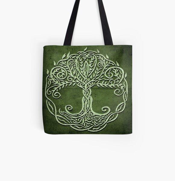 Tree Of Life All Over Print Tote Bag