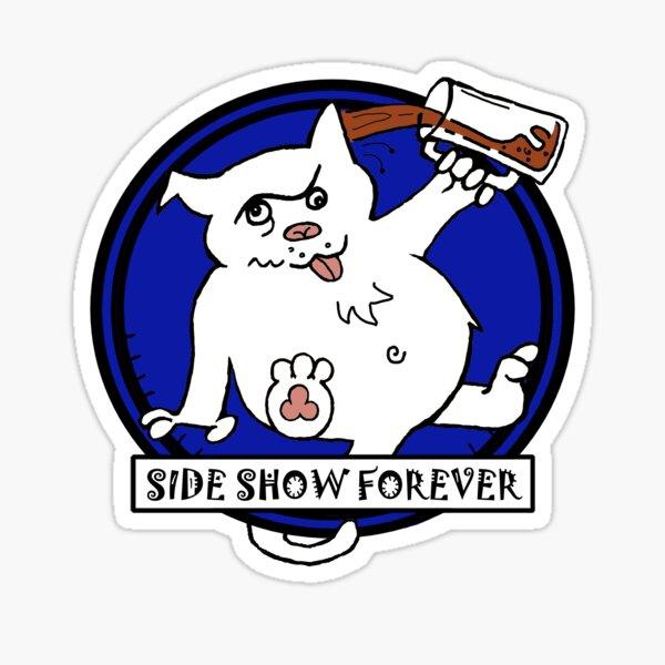 SIDE SHOW CLASSIC BLUE Sticker