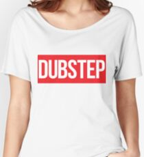 Dubstep (Red) Women's Relaxed Fit T-Shirt
