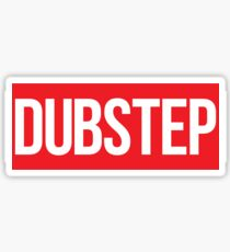 Dubstep (Red) Sticker