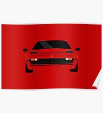 Italian supercar simplistic front end design 2 Poster
