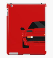Italian supercar simplistic front end design 2 iPad Case/Skin