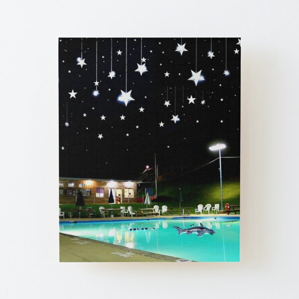 RPSC - Starry Night Wood Mounted Print