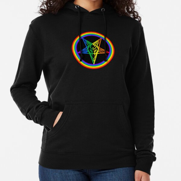 Gay for Satan Lightweight Hoodie