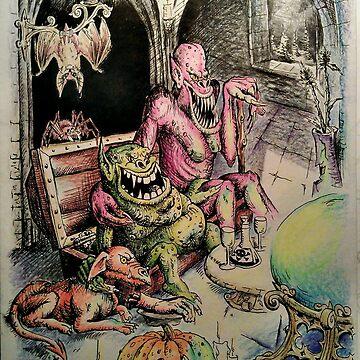 Spending Halloween Night by Unicornuss
