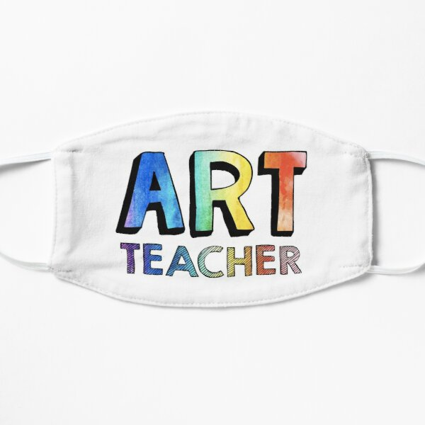 Art Teacher Mask