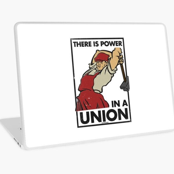 There Is Power in a Union (Vector Recreation) Laptop Skin