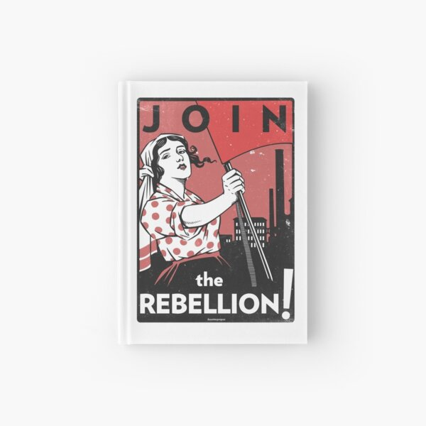 Join the Rebellion! (Vector Recreation) Hardcover Journal
