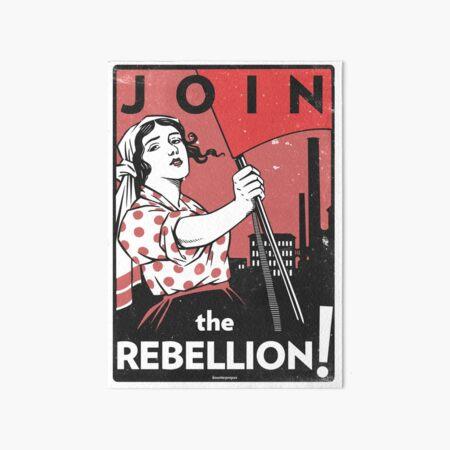 Join the Rebellion! (Vector Recreation) Art Board Print