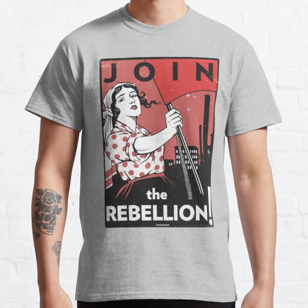 Join the Rebellion! (Vector Recreation) Classic T-Shirt