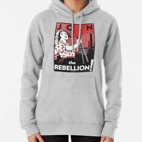 Join the Rebellion! (Vector Recreation) Pullover Hoodie