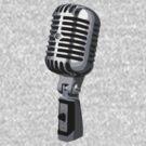 Shure 55 Classic Vintage Microphone  by Framerkat