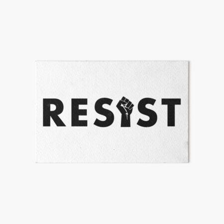 Resist (Fist) Art Board Print