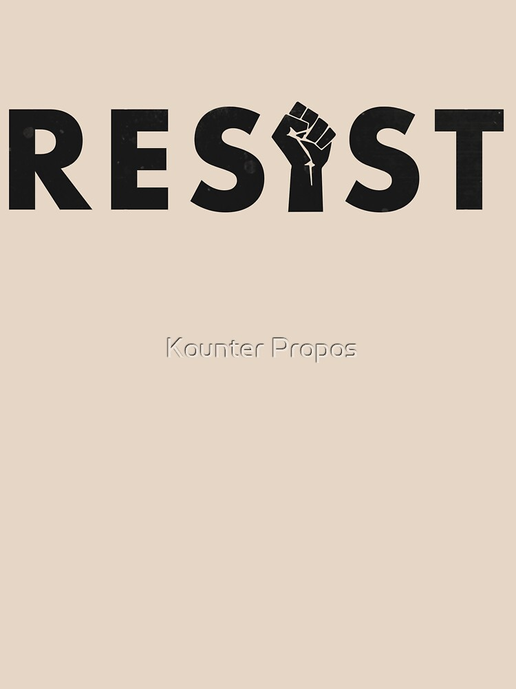 Resist (Fist) by kounterpropos