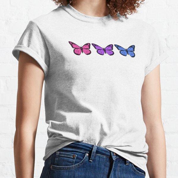 Schmetterlinge für Menschen mit klaren Handyhüllen Classic T-Shirt