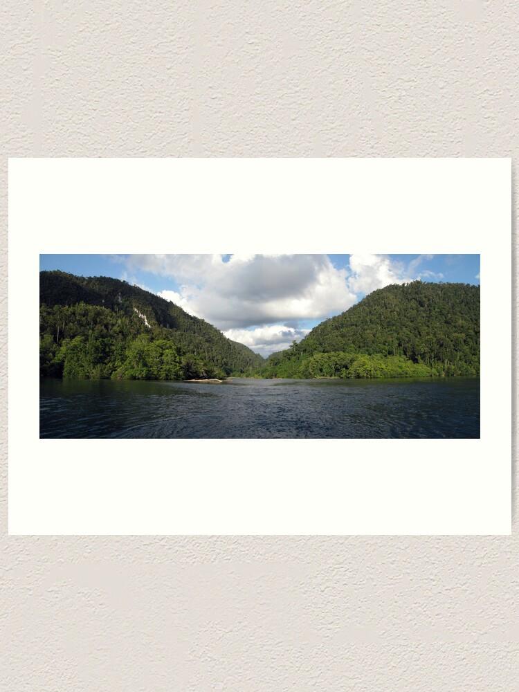 Alternate view of Sungai Biru Art Print