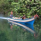 River men at Sungai Biru by Reef Ecoimages