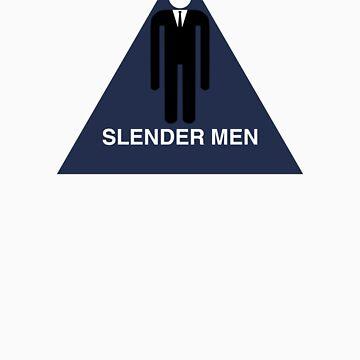 Slender Men's Room  by windupman