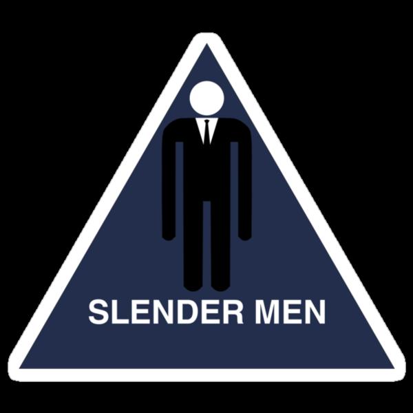 Slender Men's Room  by Jake  Jones